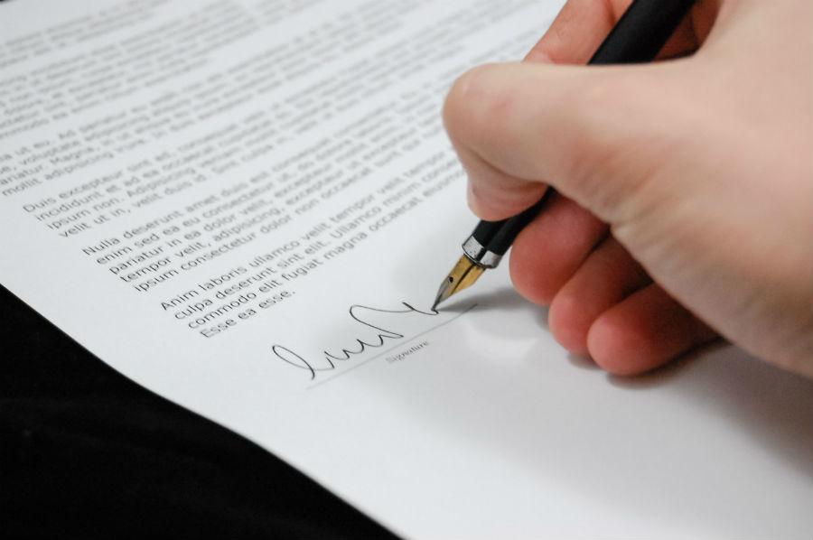 GDPR externá zmluva s účtovníkom