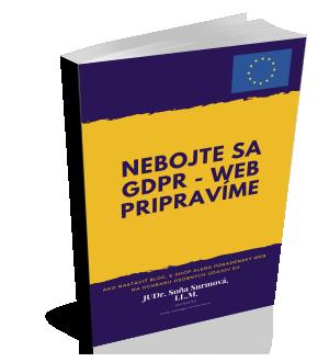 Nebojte sa GDPR - web prípravíme